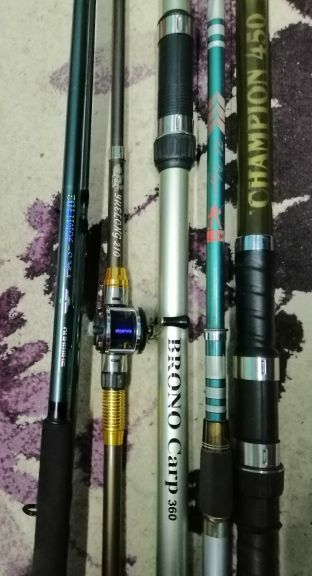 Fishing rod 4 pieces