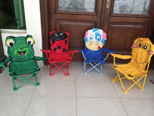 4 Kids beach chairs for sale