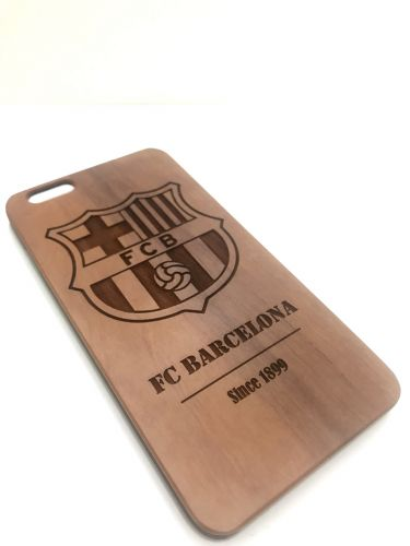 Natural wooden telephone cover