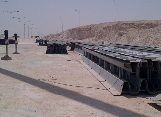 metal barrier for sale 4m