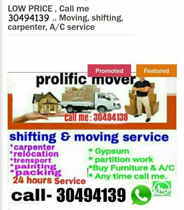 Moving&shifting good price