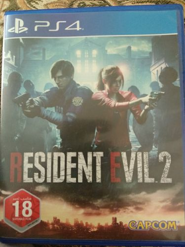 new ad of resident evil jost used 4day