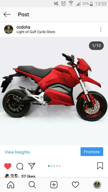 BIG SCOOTER NEW
