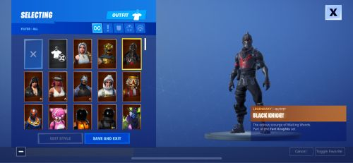 150+ skins from season 1 to 8
