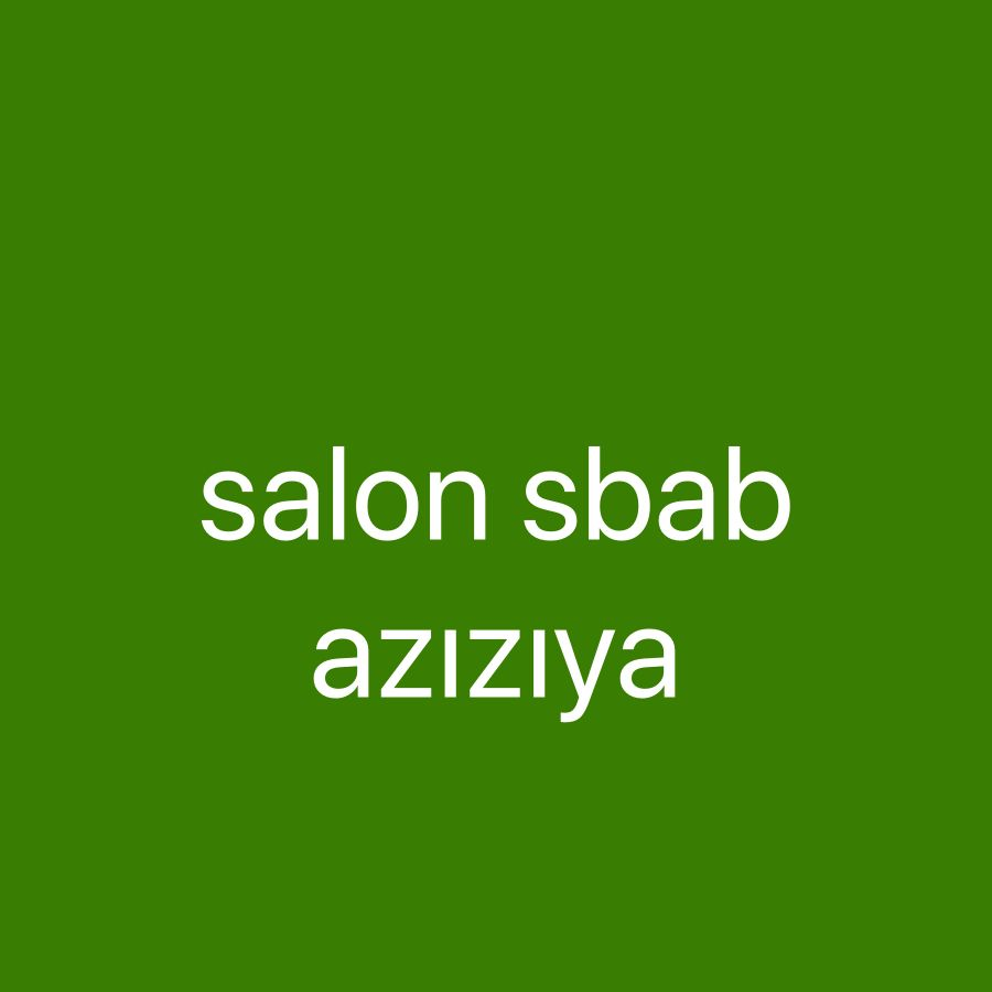 Shaba Alazızya for cuttıng haır