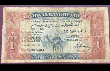 1 Camel Pound very Rare year 1924