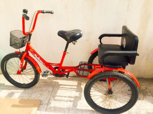 For sale 3 wheeled bicycle