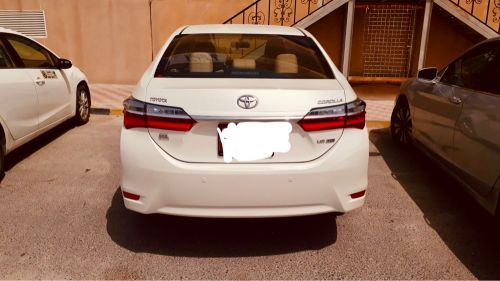 Toyota Corolla for rent