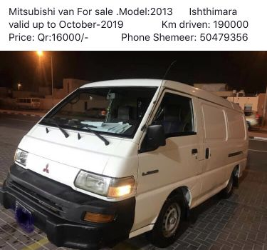 Mitsubishi van L300 for sale