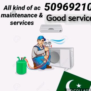 all kind of AC Service and maintenance