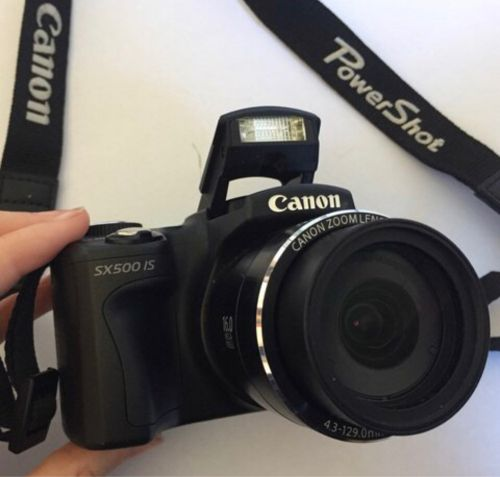 Canon Powershot SX500 IS with Box