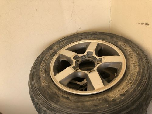 Landcruiser rims and tires