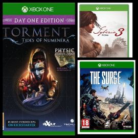3 Xbox Games for 100 QR