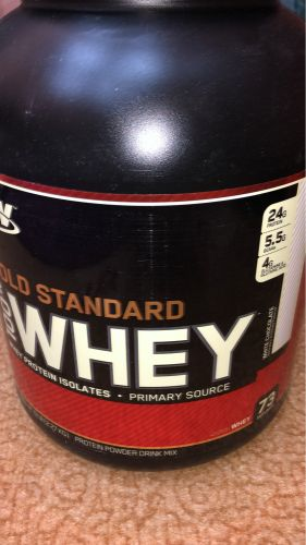 Gold standard whey 5lb