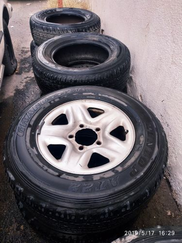 tyre with rims original