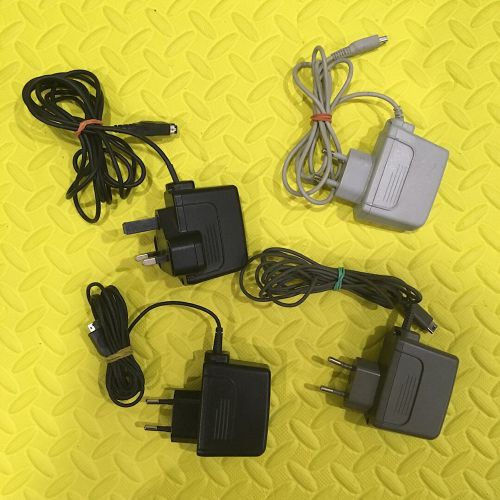 Chargers for Game Boy DS and 3DS