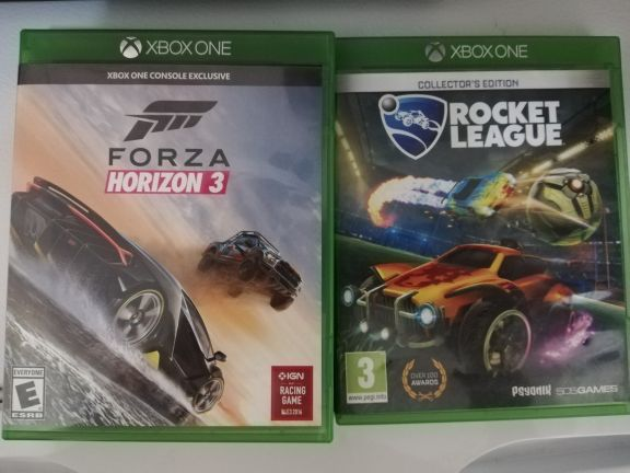 Xbox one two games for sale in 140