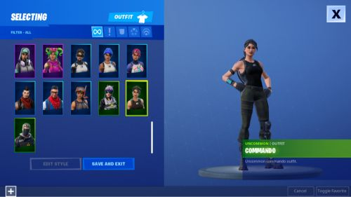 Fortnite acc for sale ps4