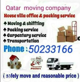 moving shifting and carpentry service