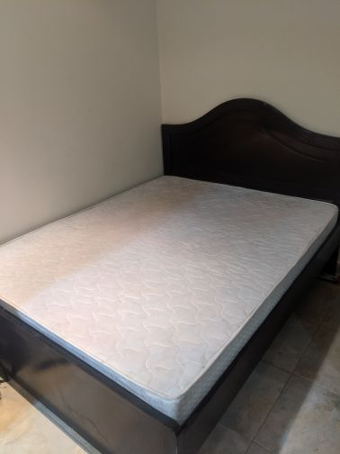 big bed with mattress for sale