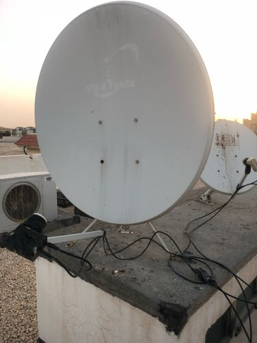 2 satellite dish