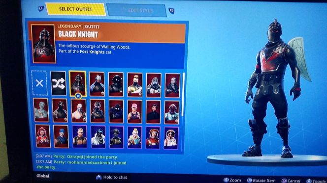 black knight account for sale