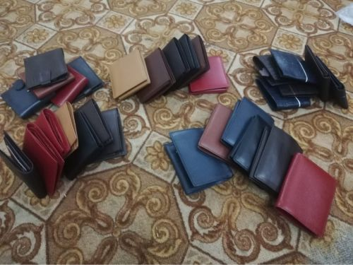 Pure Leather men wallets