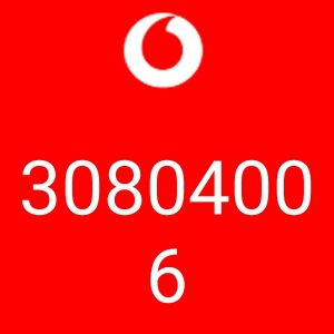 Vodafone no. 30804006 for sale