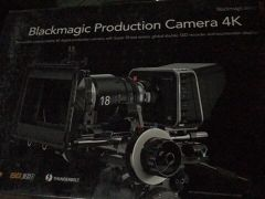 Black magic 4K cinema
