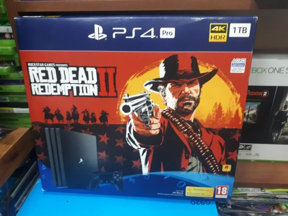 PS4 pro with Dc REDEMPTIon 2