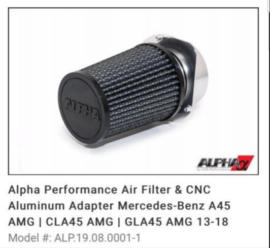 AIR FILTER FOR MERCEDES CLA