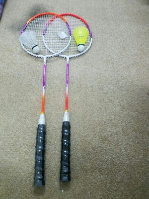 Badminton with shuttle