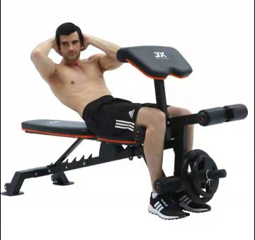 Dumbbell stool supine sit-up board fitne