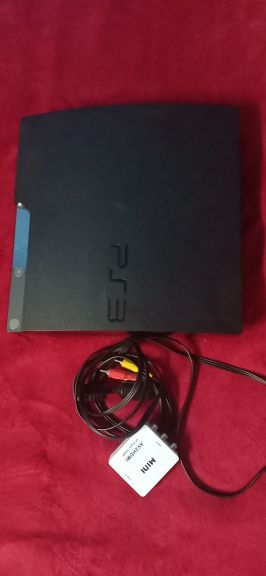 PS3 CONSOLE AND POWER CABLE NO JOYSTICK