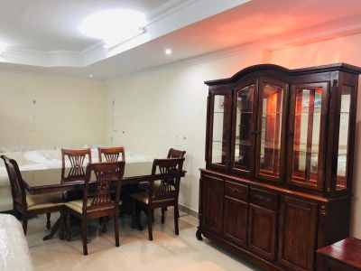 For sell 6 chair dining table with buffe