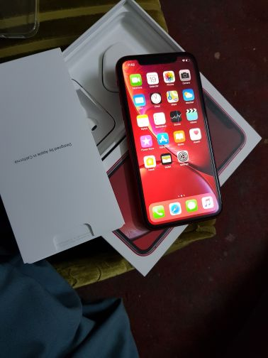 iPhone xr 128gb red edition brand new