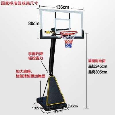 Basketball stands