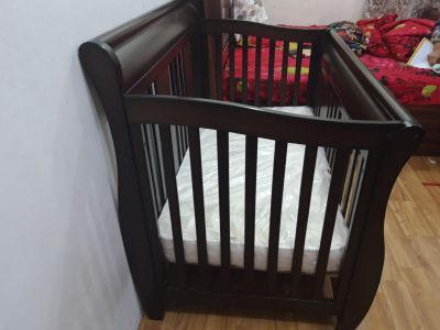baby bed with mattres