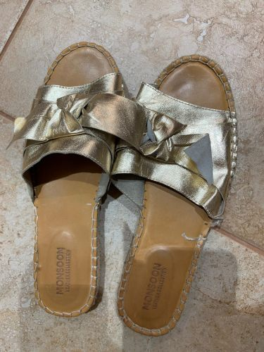 Monsoon leather sandals