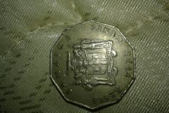 old Jamaica coin 1975