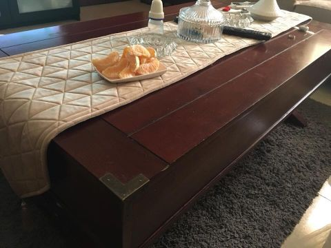 Solid Coffee Table For sale