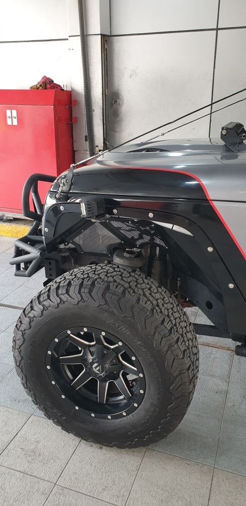 Modified Wrangler