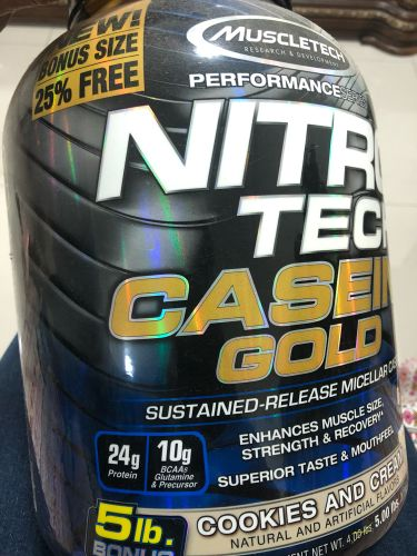 Muscletech Nitrotech Caesin Gold