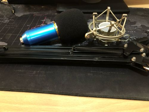 mic bm-800 with stand