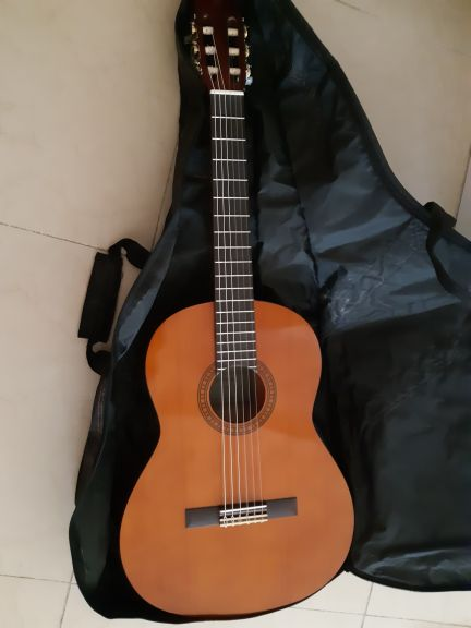 yamaha cs40 guitar with case