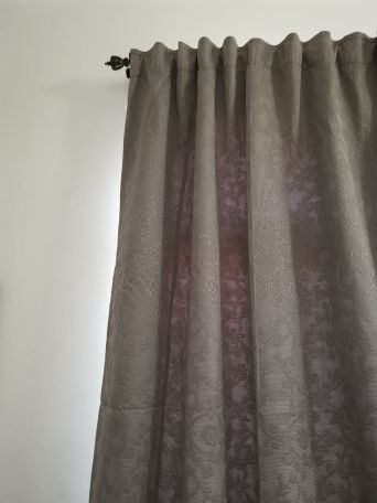 curtain dark grey 2pieces