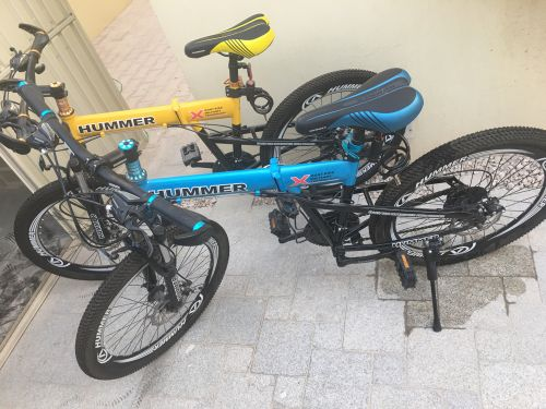 2 Hummer bicycle brand new
