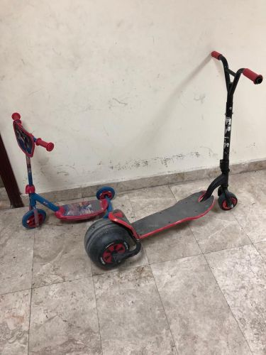 Big and Small Scooters