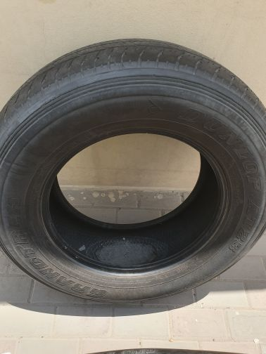 ٢ tyres for nissan patrol 265/70/18