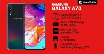 looking for Samsung a50 or a70 or a80